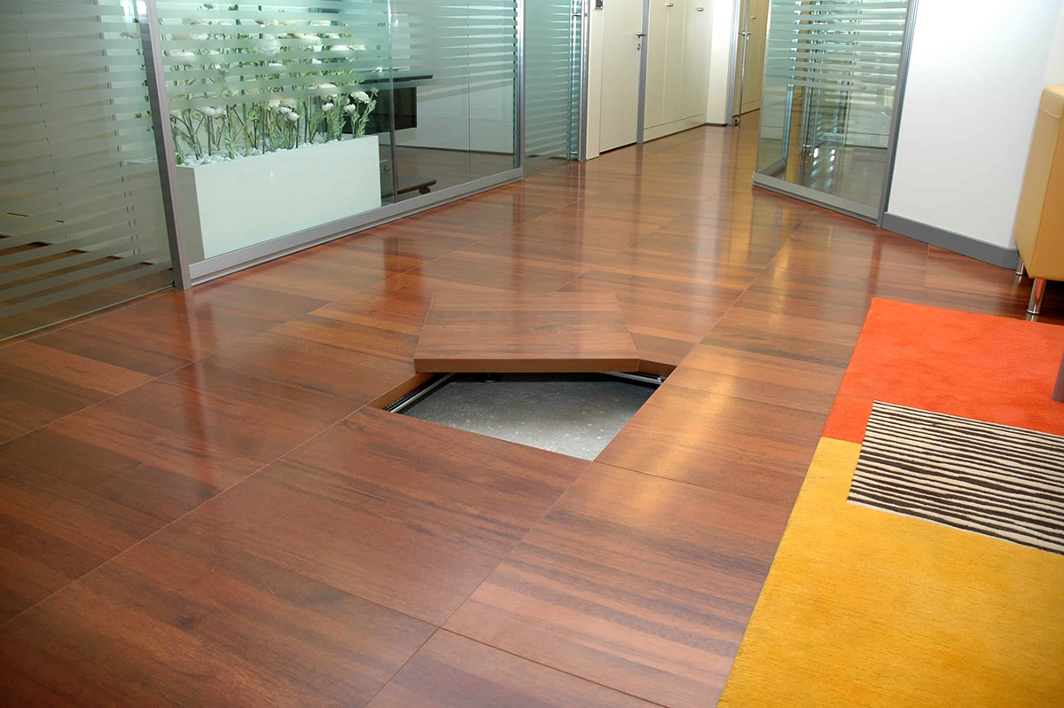 What is raised access flooring?